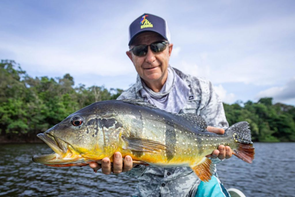 Fly Fishing the Amazon River