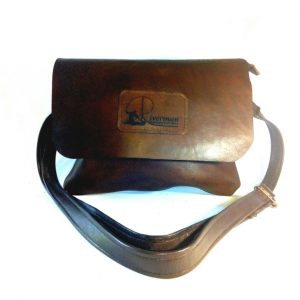 Small leather handbag