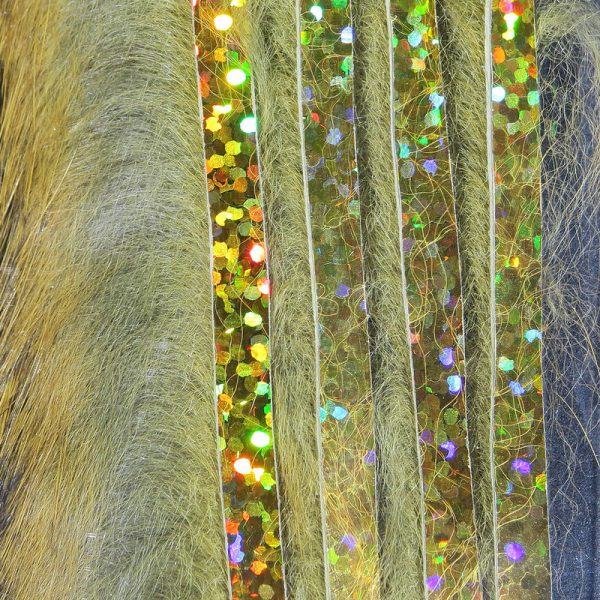 Bling Rabbit Strips - Gold Variant with Holo Gold Accent