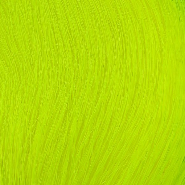 Deer Belly Hair - Yellow Chartreuse