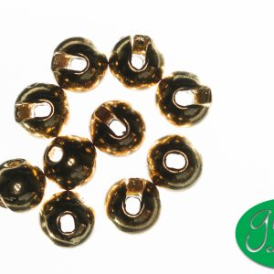 Tungsten Beads Slotted - Gold