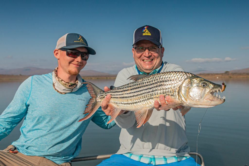 Piano wire trace for tigerfish